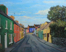 Eyeries Street Painting Ireland