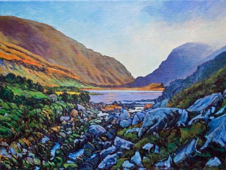 Gap of Dunloe Painting by Nigel Overton
