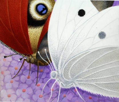 Cabbage White Acrylic on Canvas
