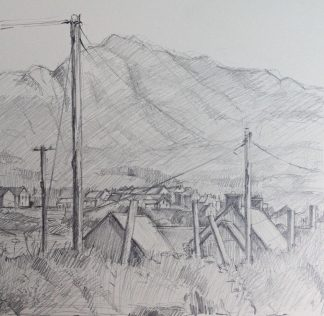 Allihies Rooftops Pencil