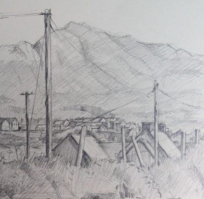 Allihies Rooftops Pencil